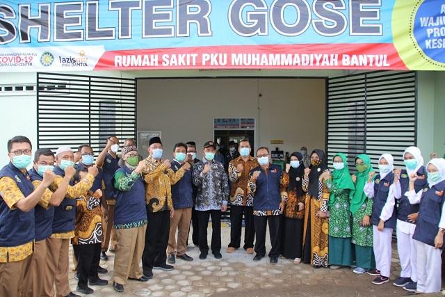 Shelter Gose PKU Muhammadiyah Bantul